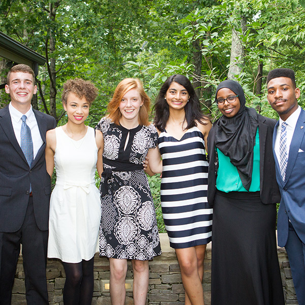Six students honored with Wilson Scholarship