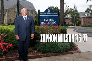 Faces of Courage Award Recipient Dr. Zaphon Wilson