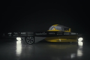The new look of Apperion – Appalachian's 2017 Solar Vehicle