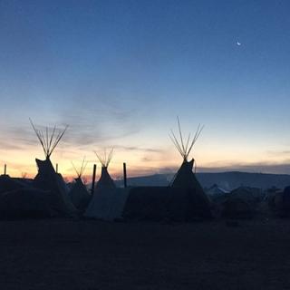 Photographs taken by Dr. Dana Powell during visits to Oceti Sakowin encampment at Standing Rock, North Dakota