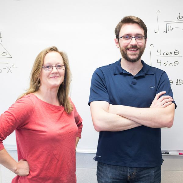 Masters Matter: Dr. Katie Mawhinney and Tyrel Winebarger, Mathematics