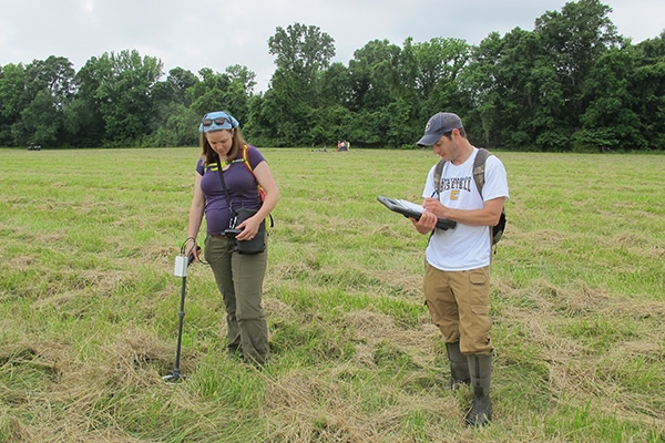 Appalachian assistant professor Alice P. Wright recognized by archaeology association, leads collaborative, interdisciplinary research team