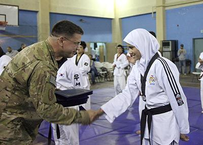 'Slow but steady progress' in Afghanistan, alumnus reports
