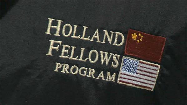 Holland Fellows program takes business majors to China
