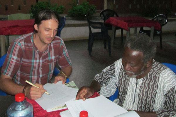 Dr. Anatoli Ignatov, land ownership and management in Ghana