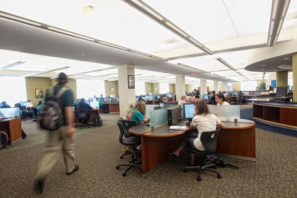 Top 5 services at Belk Library and Information Commons