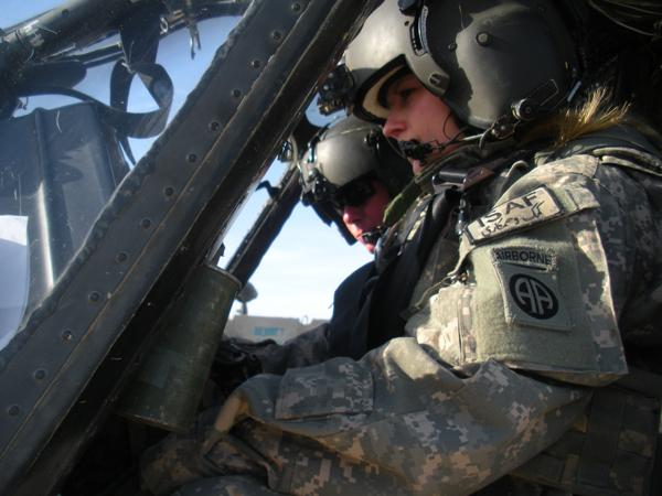 Natalie Graham Mallicoat: A pilot in Afghanistan