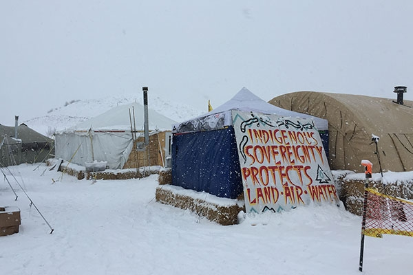Standing Rock pipeline protest leads to enhanced anthropology teaching and activist research at Appalachian State University
