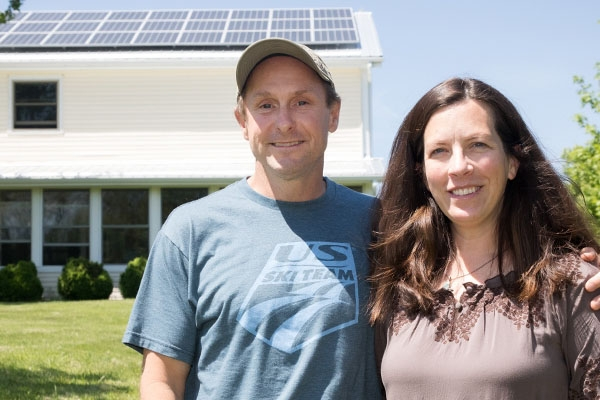Appalachian professors practice what they teach, operate their home at net positive energy use with solar panels