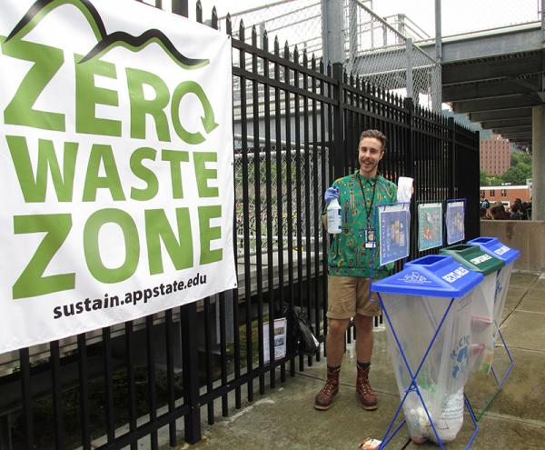 New initiatives in place for Zero Waste at Appalachian's Kidd Brewer Stadium