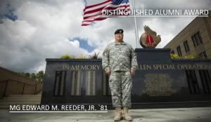 Alumni Awards 2013: Maj. Gen. Edward M. Reeder Jr. '81