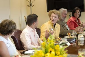 A glimpse into Dr. Sheri N. Everts' first day as chancellor