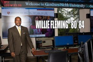 Faces of Courage Award Recipient Dr. Willie Fleming