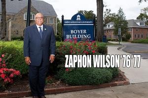 Faces of Courage Award Recipient Dr. Zaphon Wilson