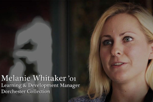 Melanie Whitaker '01: A passion for travel leads to overseas success