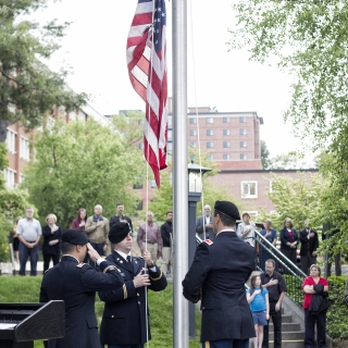 Memorial Day Ceremony at Appalachian, May 25, 2015
