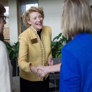Chancellor Everts' first day