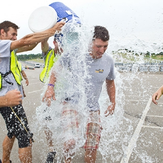 Third place celebration at American Solar Challenge