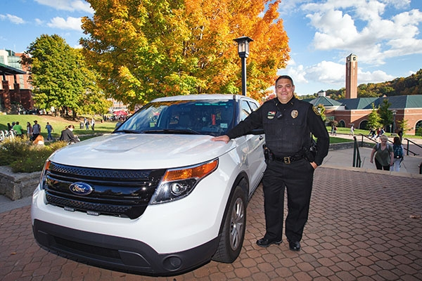 Lt. Darrin Tolbert exemplifies University Police commitment to public safety