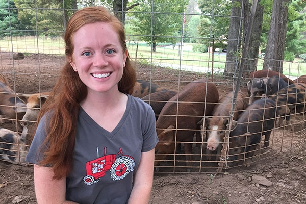 Laura Brookshire '16 helps keep farmers in business