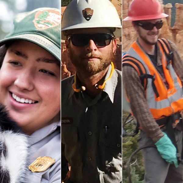 Three Appalachian alumni share their paths to becoming national park rangers