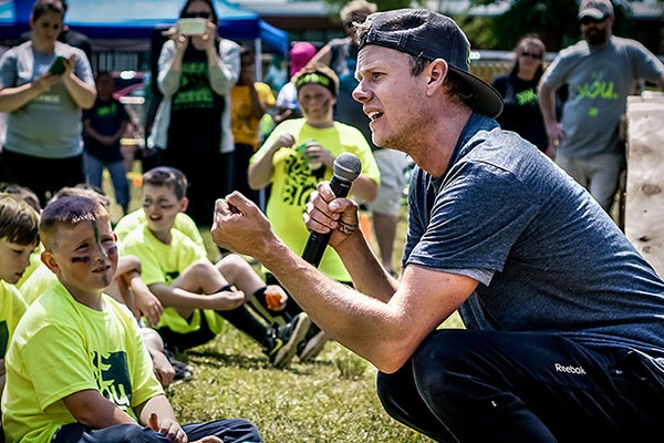 Appalachian alum builds boys' confidence, character and strength through Xcel2Fitness after-school program